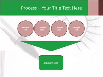 Set of eyelashes PowerPoint Template - Slide 93