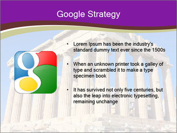 Facade of ancient temple PowerPoint Template - Slide 10