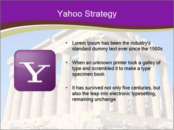 Facade of ancient temple PowerPoint Template - Slide 11