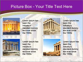 Facade of ancient temple PowerPoint Template - Slide 14