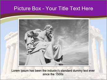 Facade of ancient temple PowerPoint Template - Slide 15