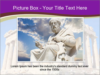 Facade of ancient temple PowerPoint Template - Slide 16