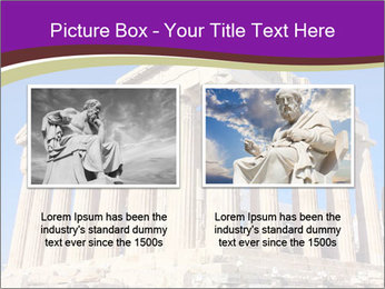 Facade of ancient temple PowerPoint Template - Slide 18