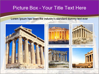 Facade of ancient temple PowerPoint Template - Slide 19