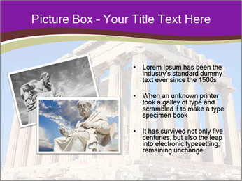 Facade of ancient temple PowerPoint Template - Slide 20