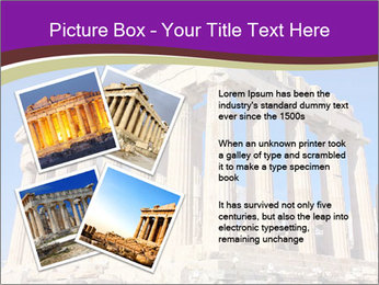 Facade of ancient temple PowerPoint Template - Slide 23