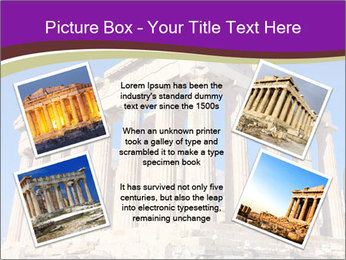 Facade of ancient temple PowerPoint Template - Slide 24