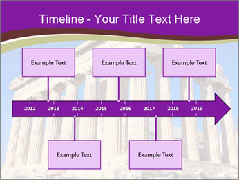 Facade of ancient temple PowerPoint Template - Slide 28