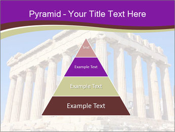 Facade of ancient temple PowerPoint Template - Slide 30