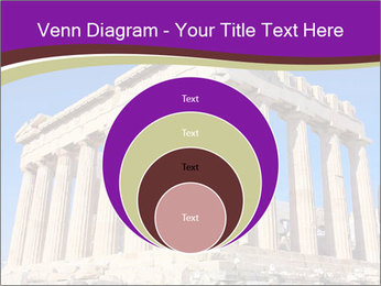 Facade of ancient temple PowerPoint Template - Slide 34