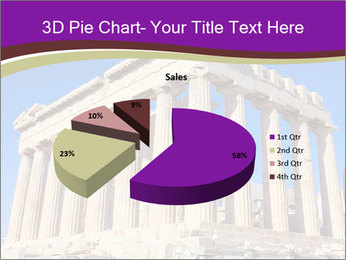 Facade of ancient temple PowerPoint Template - Slide 35