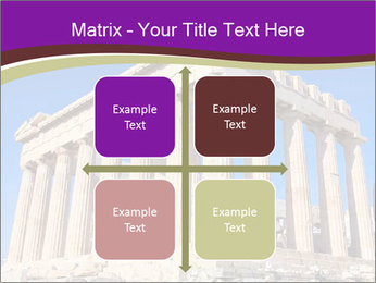 Facade of ancient temple PowerPoint Template - Slide 37