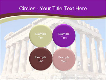 Facade of ancient temple PowerPoint Template - Slide 38