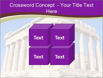 Facade of ancient temple PowerPoint Template - Slide 39