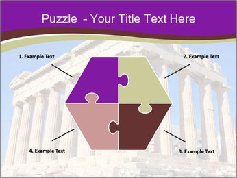 Facade of ancient temple PowerPoint Template - Slide 40