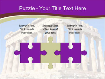 Facade of ancient temple PowerPoint Template - Slide 42