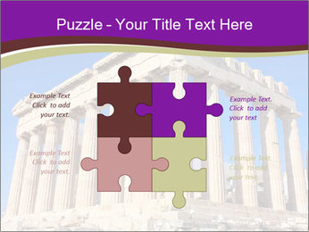 Facade of ancient temple PowerPoint Template - Slide 43