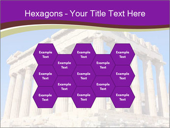 Facade of ancient temple PowerPoint Template - Slide 44