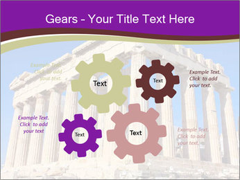Facade of ancient temple PowerPoint Template - Slide 47