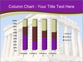 Facade of ancient temple PowerPoint Template - Slide 50