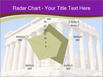 Facade of ancient temple PowerPoint Template - Slide 51
