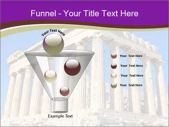 Facade of ancient temple PowerPoint Template - Slide 63