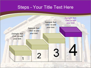 Facade of ancient temple PowerPoint Template - Slide 64