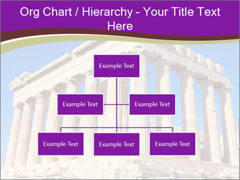 Facade of ancient temple PowerPoint Template - Slide 66