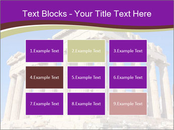 Facade of ancient temple PowerPoint Template - Slide 68