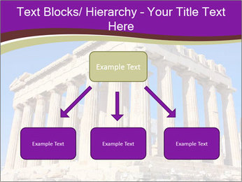 Facade of ancient temple PowerPoint Template - Slide 69