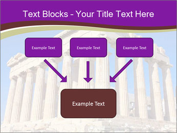 Facade of ancient temple PowerPoint Template - Slide 70