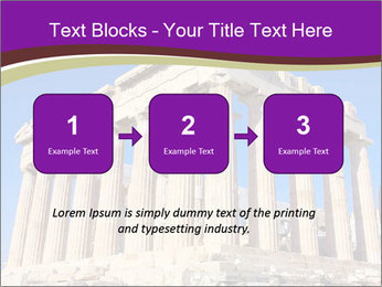 Facade of ancient temple PowerPoint Template - Slide 71