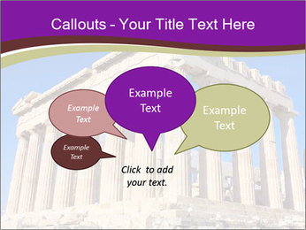 Facade of ancient temple PowerPoint Template - Slide 73
