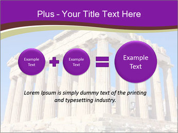 Facade of ancient temple PowerPoint Template - Slide 75