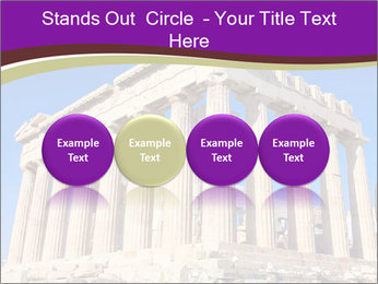 Facade of ancient temple PowerPoint Template - Slide 76