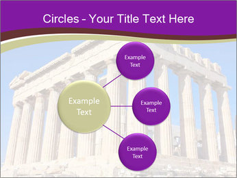 Facade of ancient temple PowerPoint Template - Slide 79