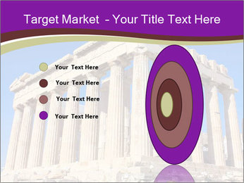 Facade of ancient temple PowerPoint Template - Slide 84