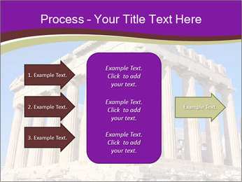 Facade of ancient temple PowerPoint Template - Slide 85