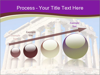 Facade of ancient temple PowerPoint Template - Slide 87