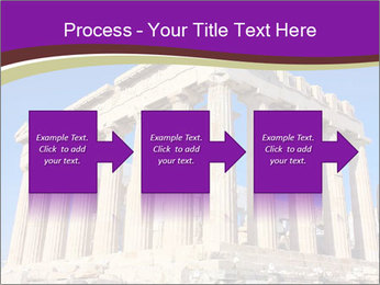 Facade of ancient temple PowerPoint Template - Slide 88