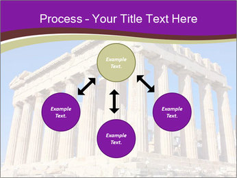 Facade of ancient temple PowerPoint Template - Slide 91
