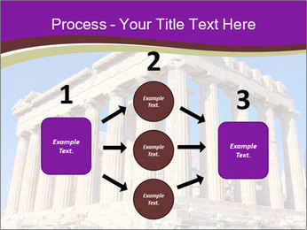 Facade of ancient temple PowerPoint Template - Slide 92