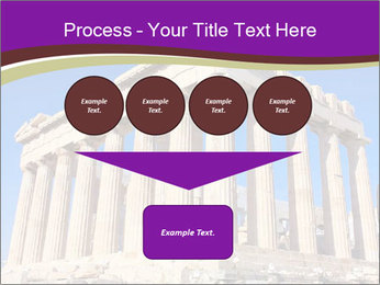 Facade of ancient temple PowerPoint Template - Slide 93