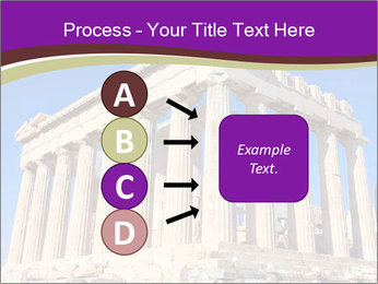 Facade of ancient temple PowerPoint Template - Slide 94
