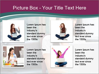 Woman working PowerPoint Templates - Slide 14