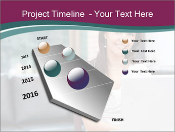 Woman working PowerPoint Templates - Slide 26