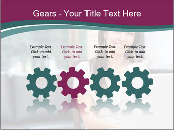 Woman working PowerPoint Templates - Slide 48