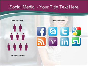 Woman working PowerPoint Templates - Slide 5