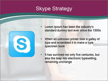Woman working PowerPoint Templates - Slide 8
