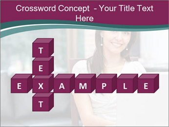 Woman working PowerPoint Templates - Slide 82